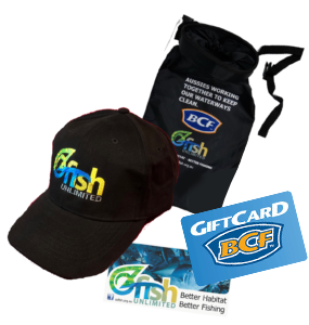 OzFish Unlimited Membership Pack