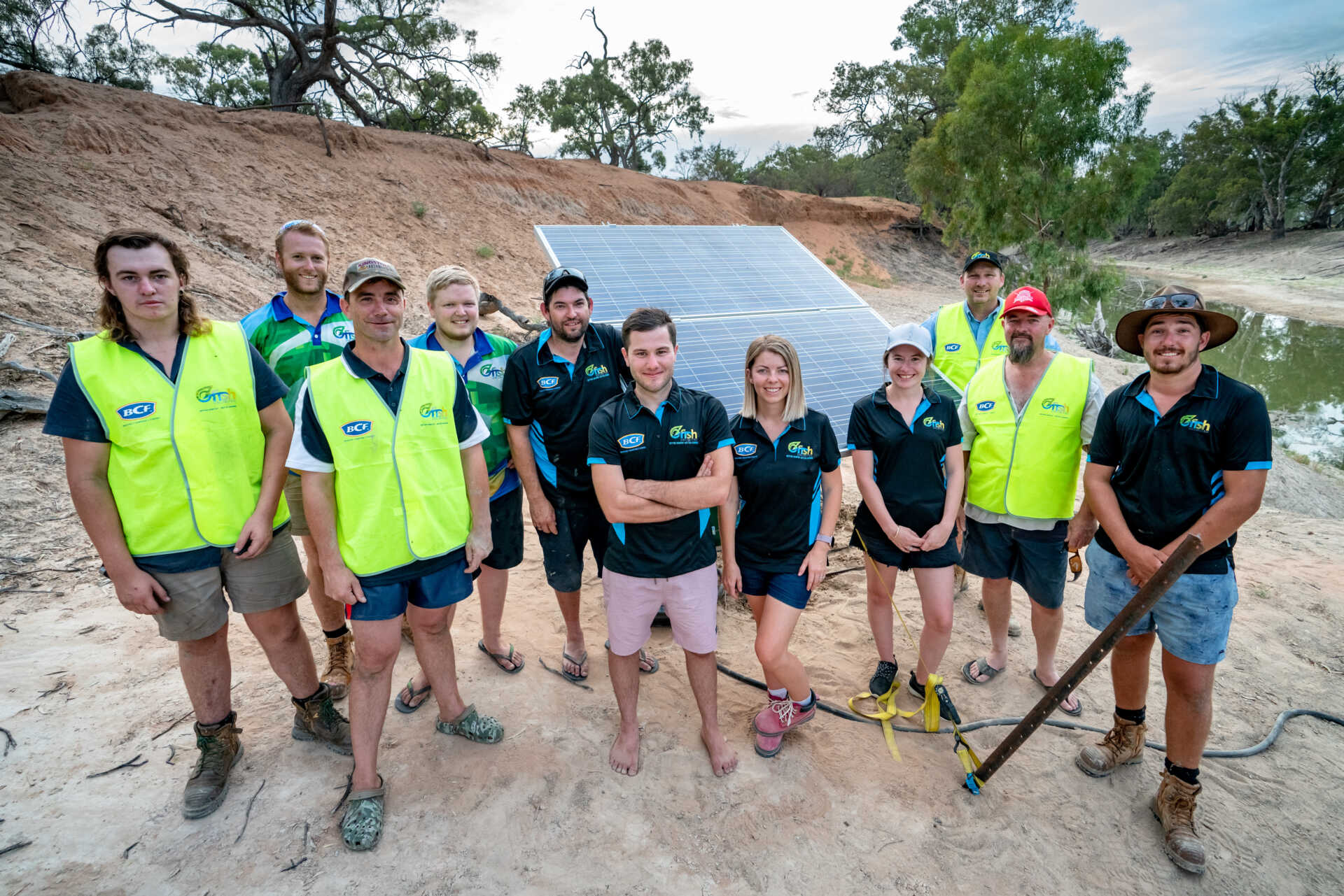 With thanks to BCF and OzFish Sunraysia volunteers